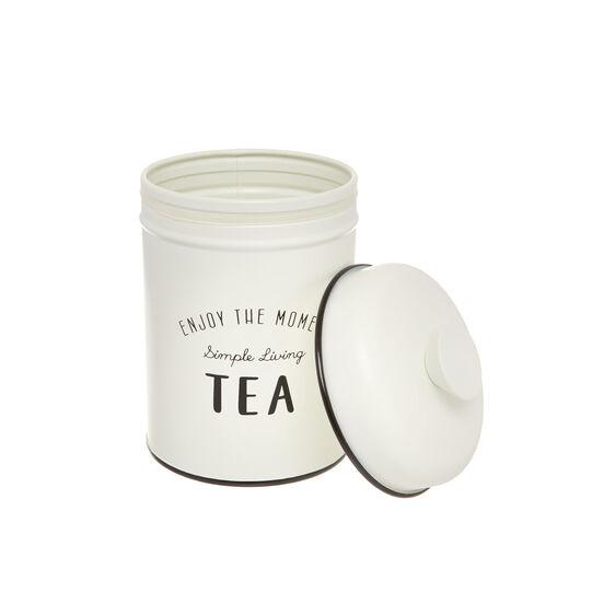 Enamelled iron Tea tin