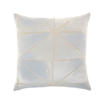 Cuscino jacquard motivi geometrici 50x50cm