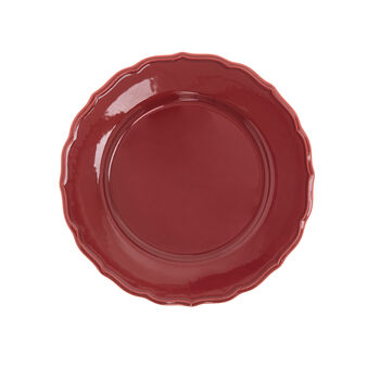 Dona Maria plate in glazed ceramic