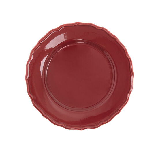 Dona Maria plate in glazed ceramic