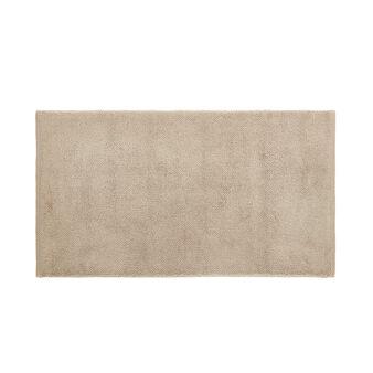Zero twist cotton bath mat.