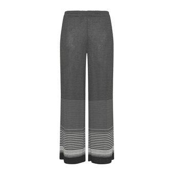 Koan lightweight wide trousers with stripes