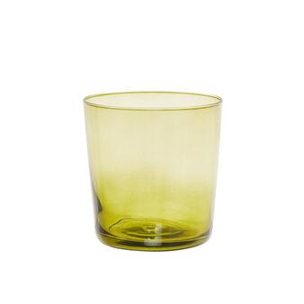 Degradé-effect glass tumbler