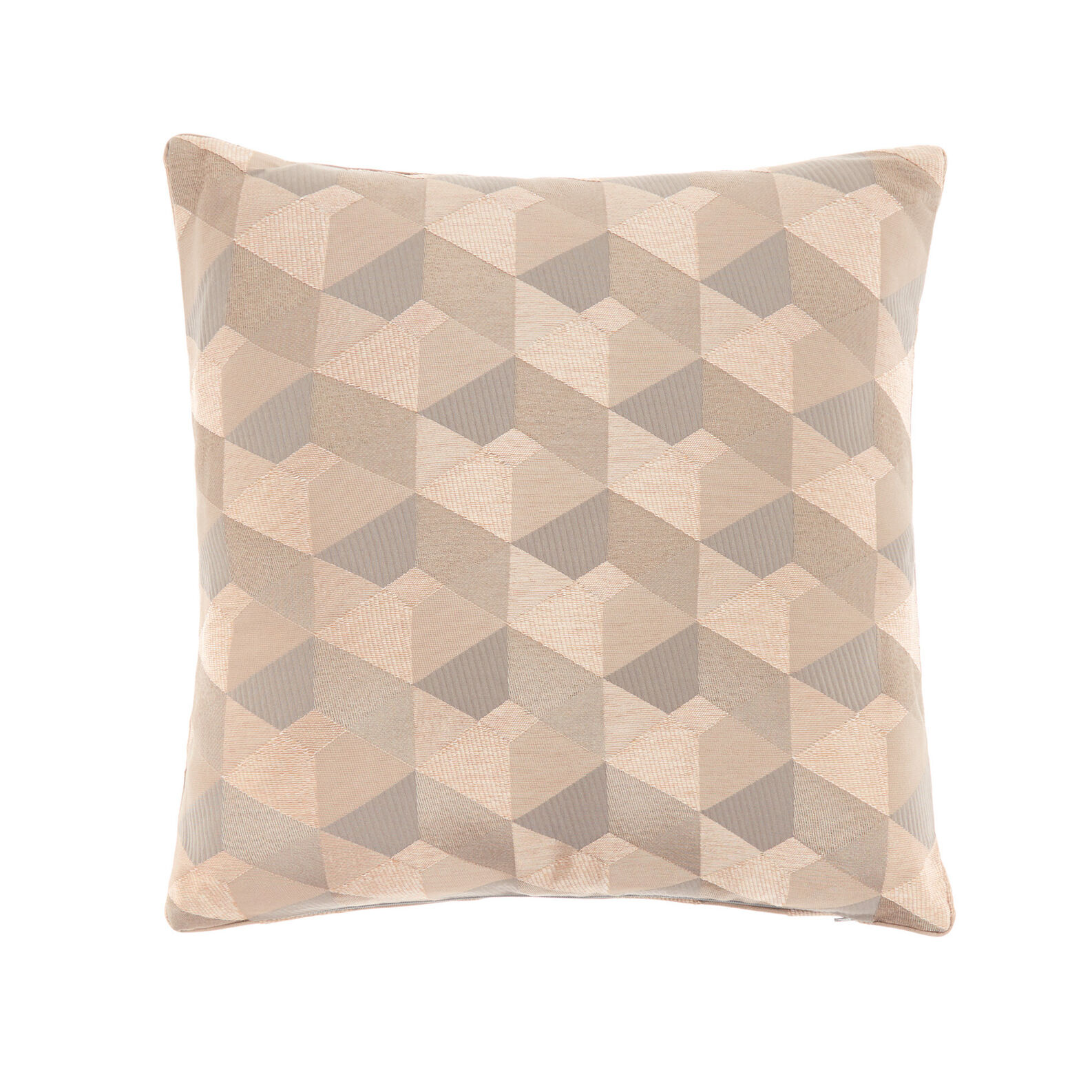 Jacquard diamond cushion 45x45cm