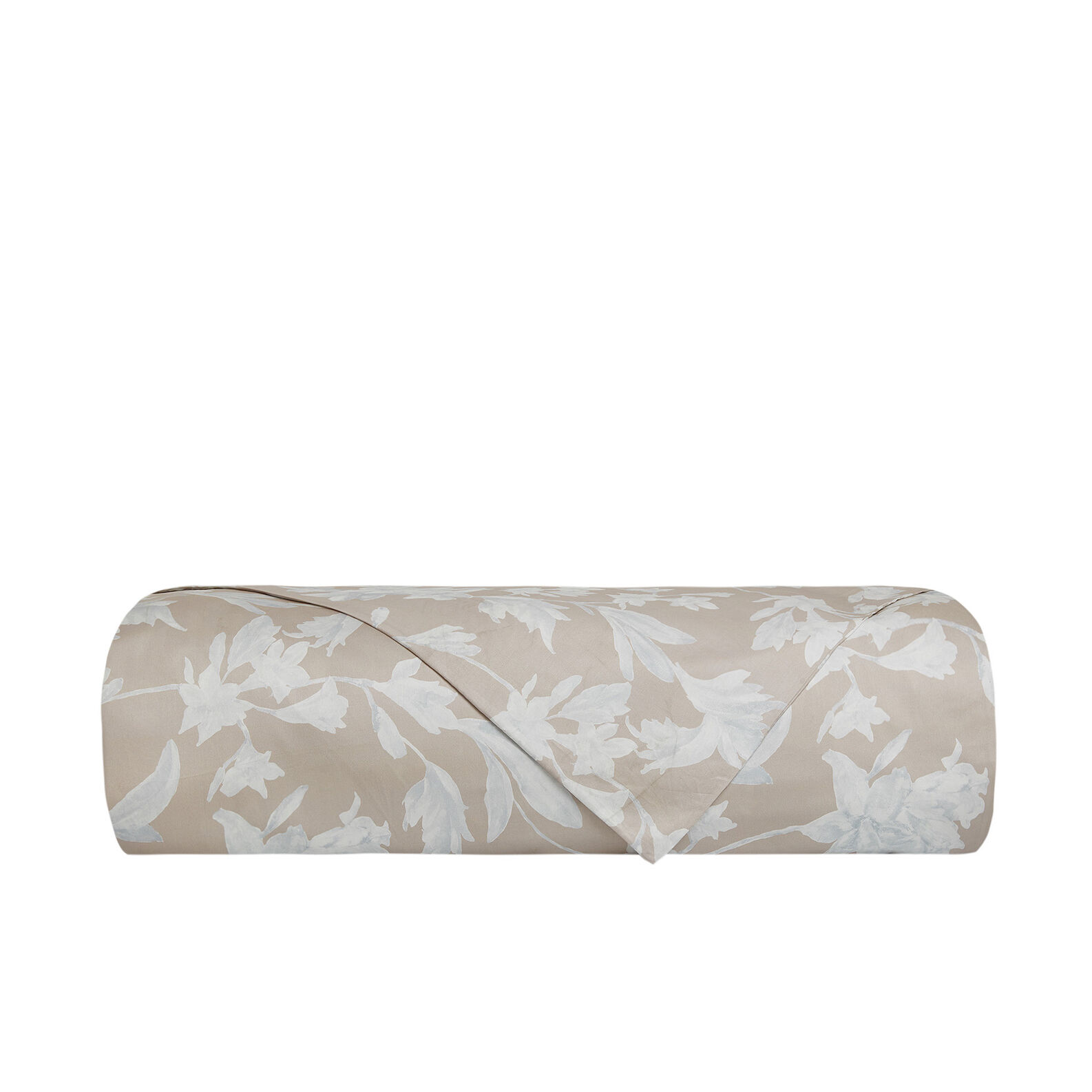 Portofino floral pattern cotton satin duvet cove