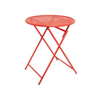 Rojo coffee table in steel