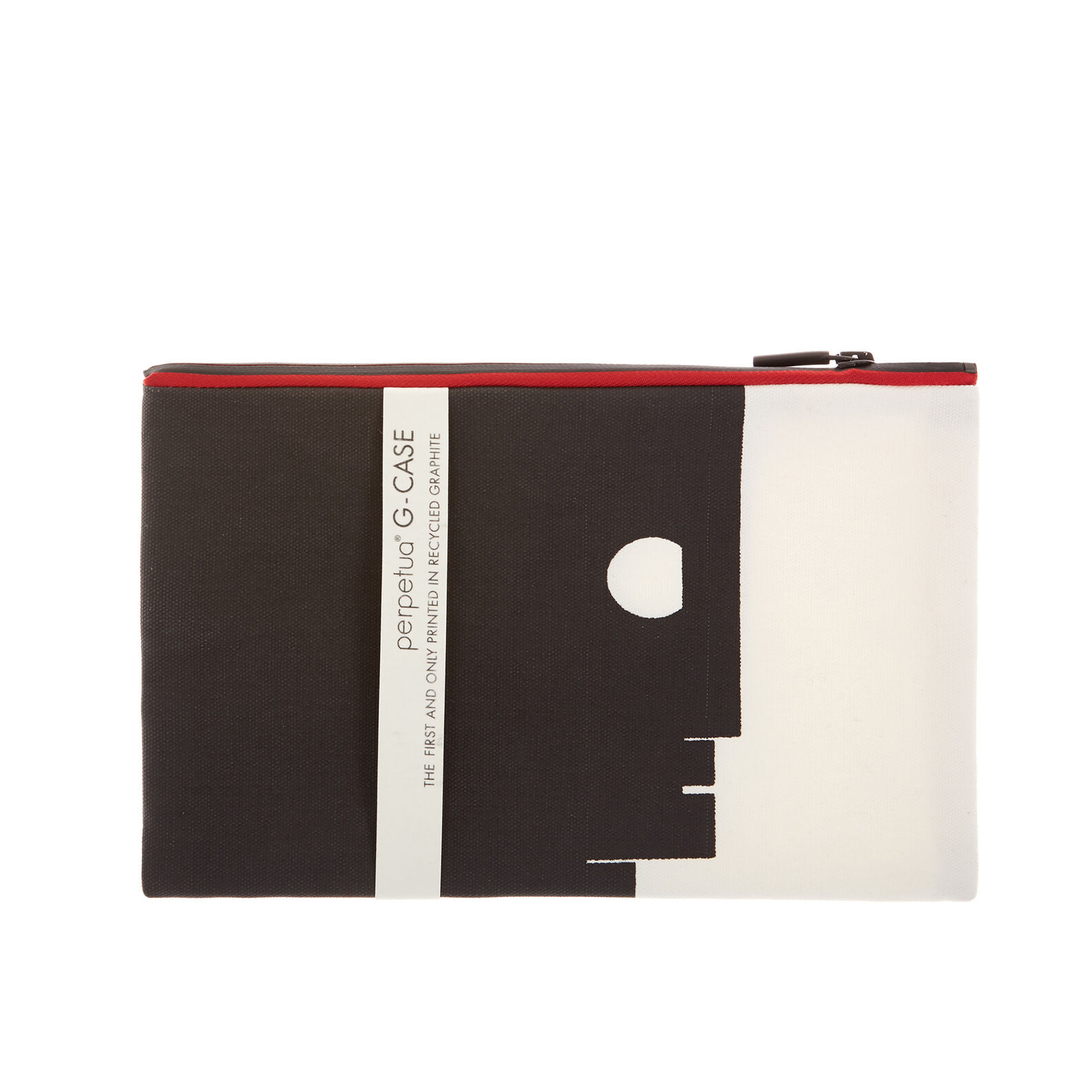 Perpetua pencil case in cotton fabric