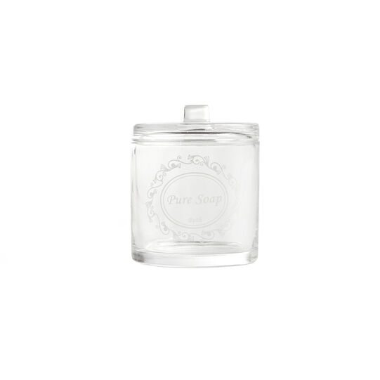 Floral glass container