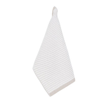 100% cotton terry tea cloth with stitching
