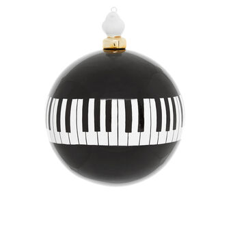 Sfera pianoforte decorata a mano
