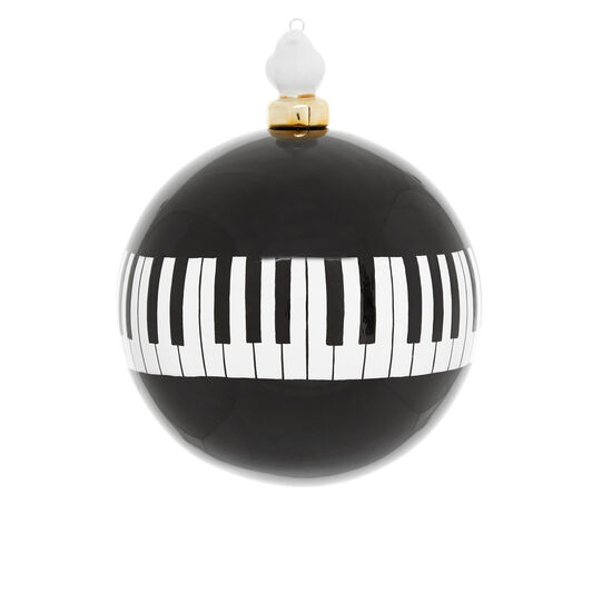 Sfera pianoforte decorata a mano