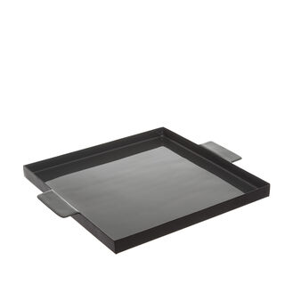 Square iron tray