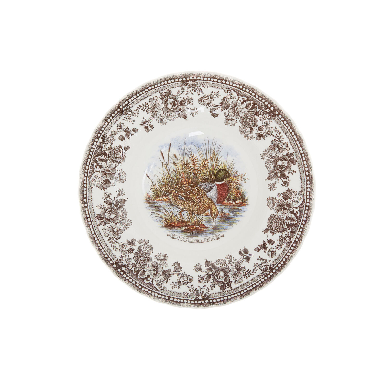Churchill set of 18 ceramic plates with hunting motif