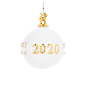 Sfera decoro 2020 porcellana