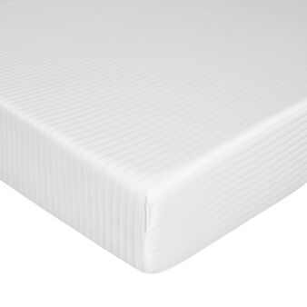 Cotton satin mattress cover
