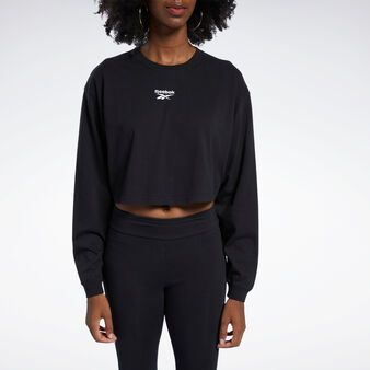 Oversize top with long sleeves