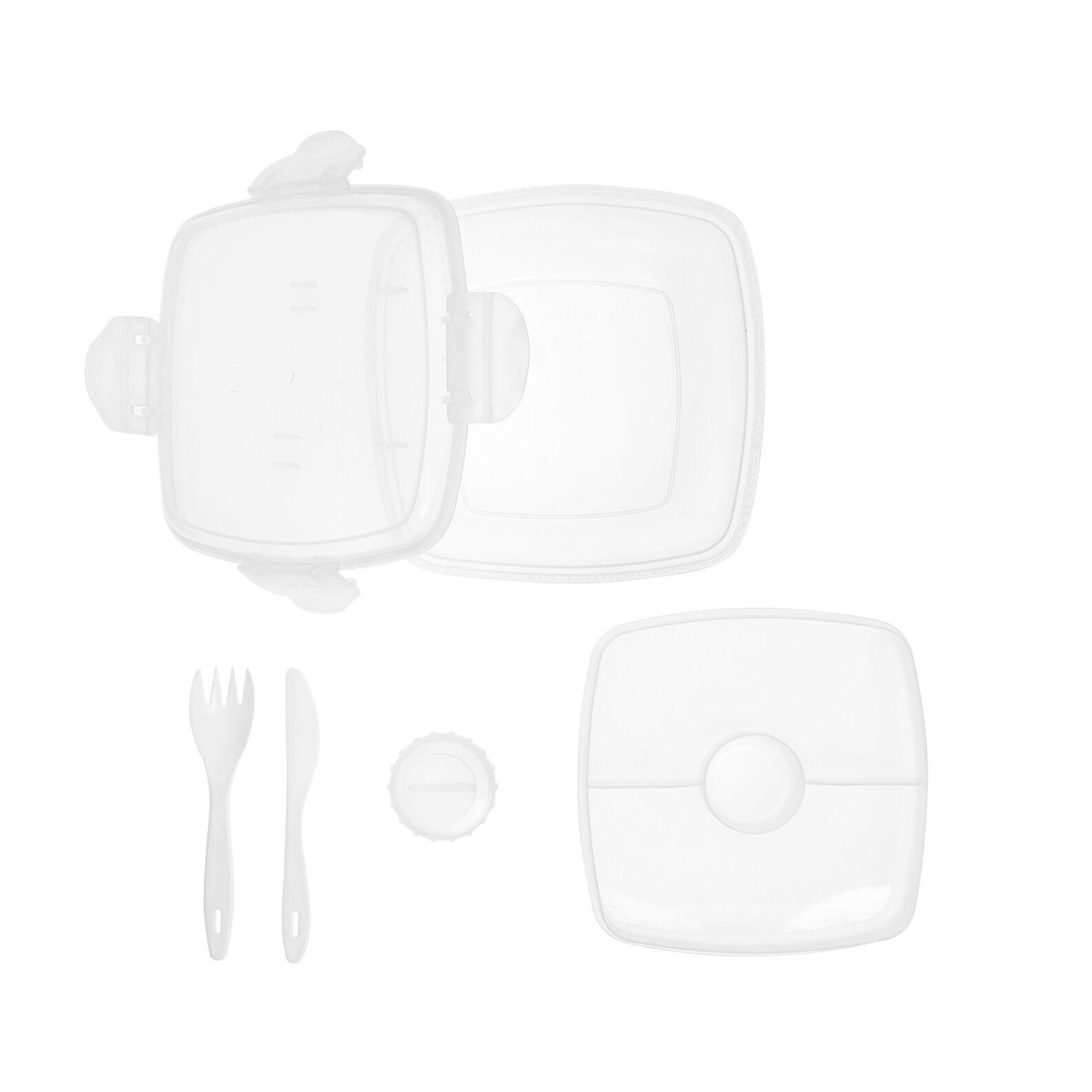 Lunch box plastica