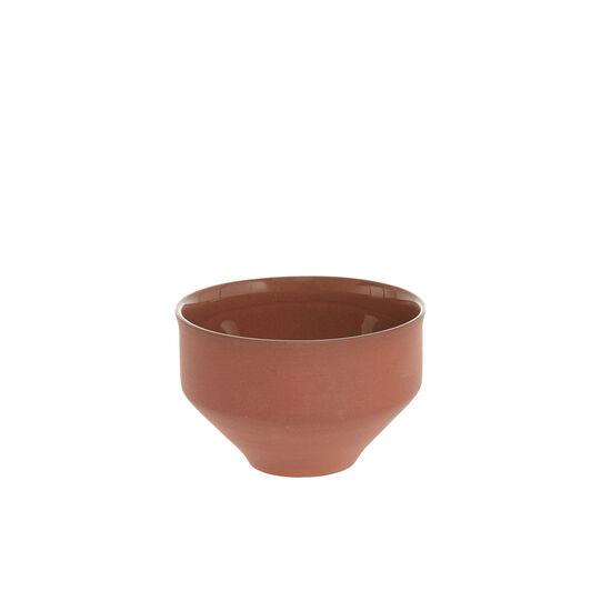 Small terracotta bowl