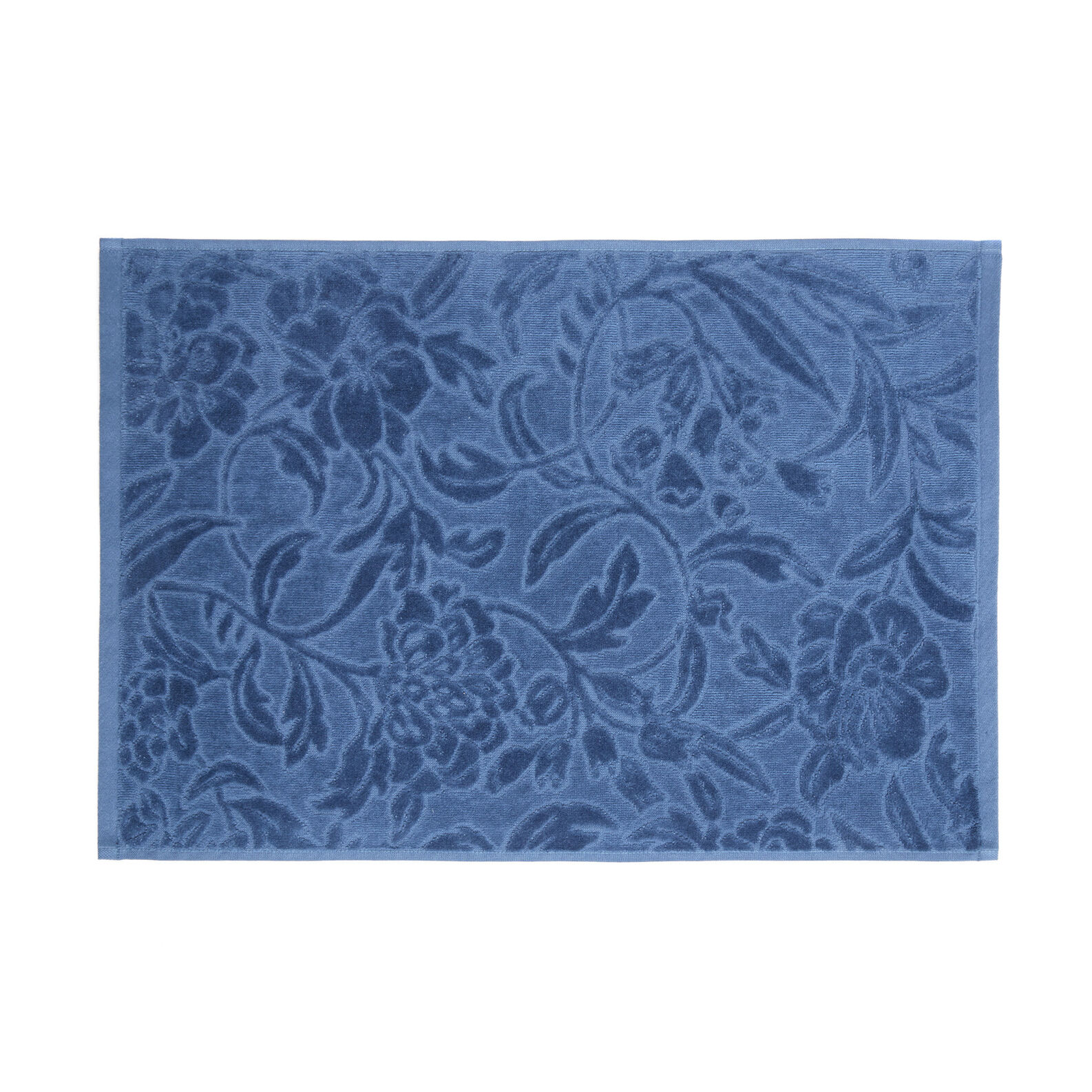 Towel in 100% cotton with damask design