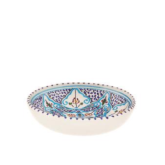 Piatto fondo ceramica artigianale UNIDO