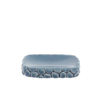 Portasapone ceramica motivo conchiglie