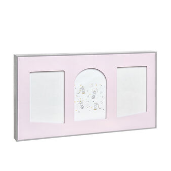 Photo frame with heart-shaped mount board