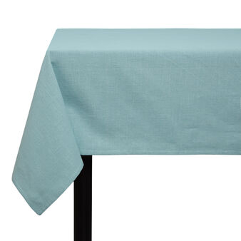 Solid colour iridescent cotton tablecloth