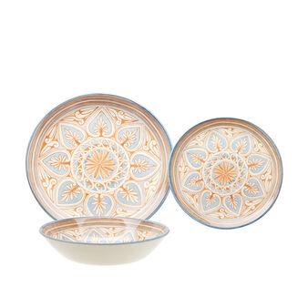 Set 18 piatti ceramica Majolica