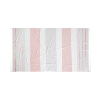 Pure cotton striped hammam beach towel