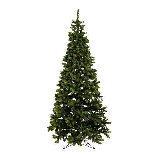 Slim Christmas tree, h 225 cm