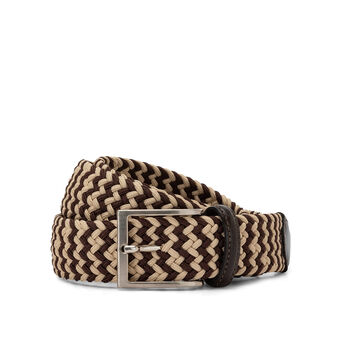 Luca D'Altieri  two-tone elasticated belt