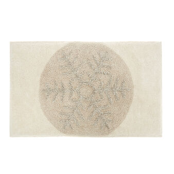 Tappeto bagno cotone stampa fiocco di neve