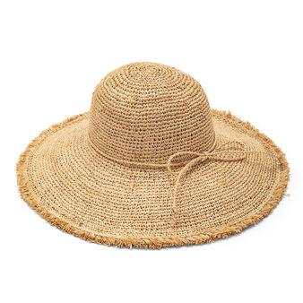 Cappello tesa larga in paglia