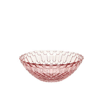 Small decorated glass bowl
