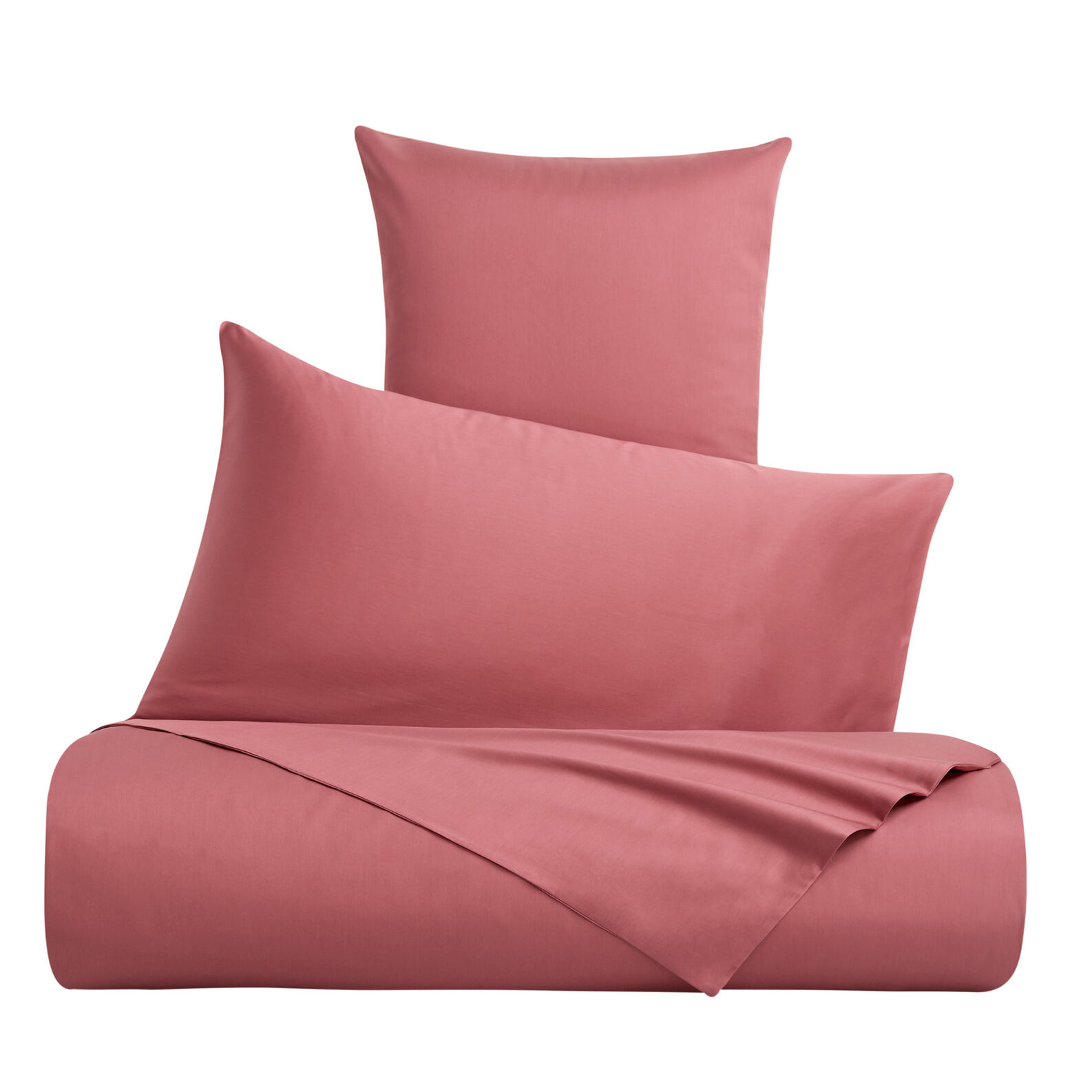 Zefiro pure cotton satin bed parure