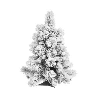 LED tree with snow H58cm