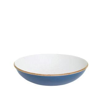 Coppa legno di salice dipinto