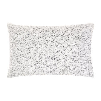 Pillowcase in cotton satin with constellation pattern