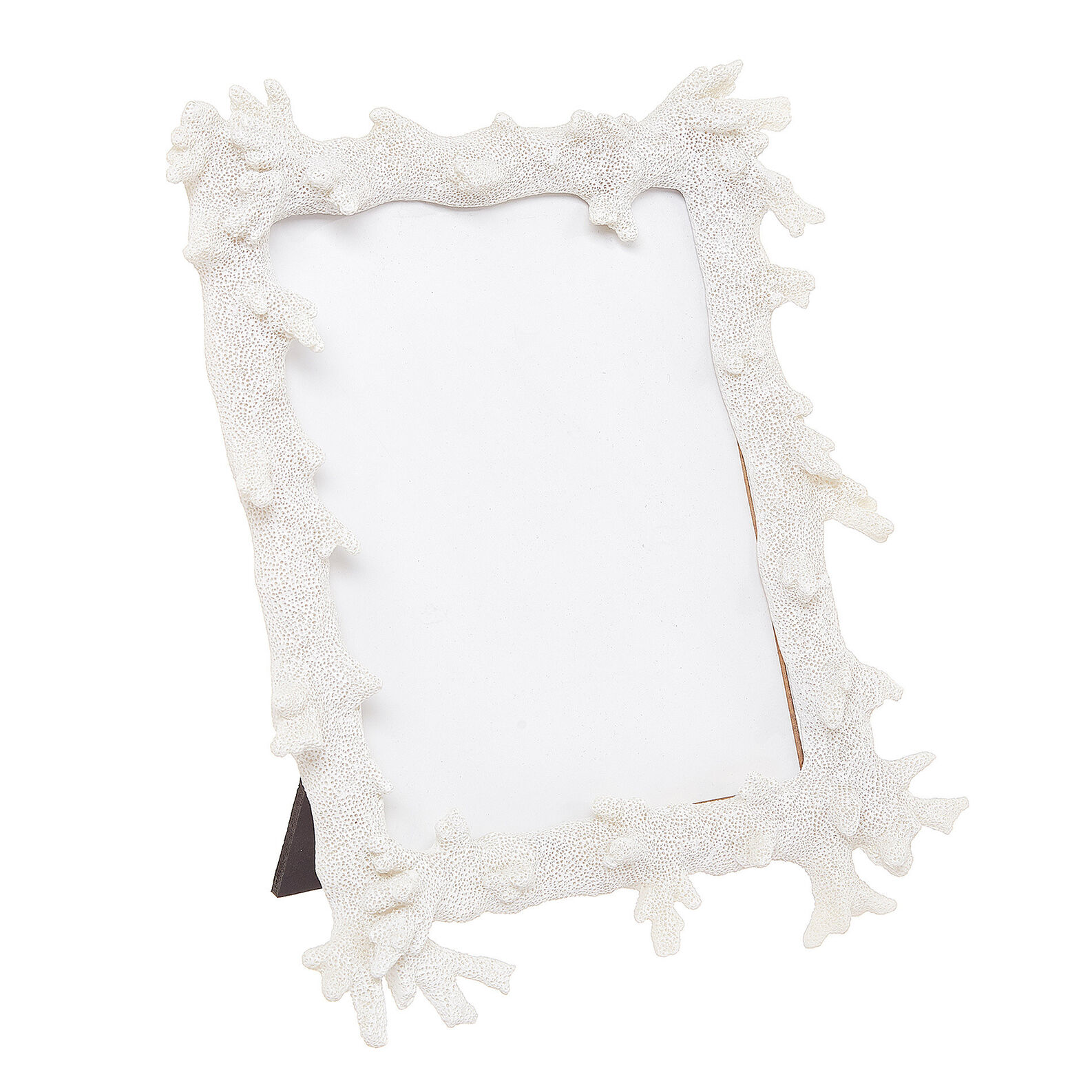 Hand-finished coral photo frame