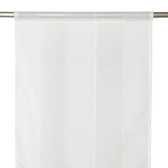Vertical striped curtain