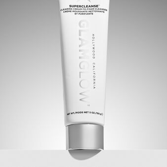 Glamglow supercleanse - clearing cream-to-foam cleanser 150 ml