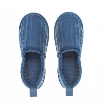 Pantofole puro cotone nido d'ape