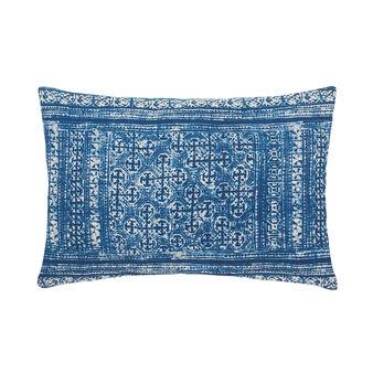 Cuscino in cotone stampa batik