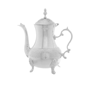 Silver-plated Moroccan teapot