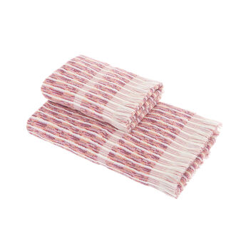 Multicoloured cotton terry towel