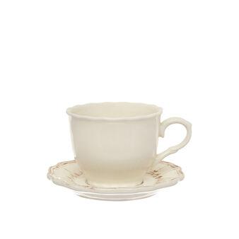 Tazza da tè in ceramica decorata Genny
