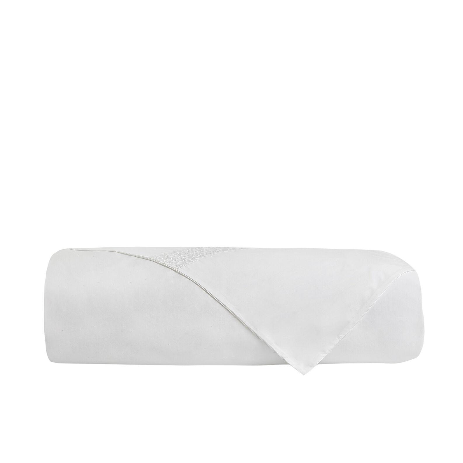 Portofino 100% cotton duvet cover with embroidered trim