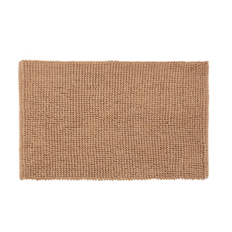 Peanut-effect cotton bath mat