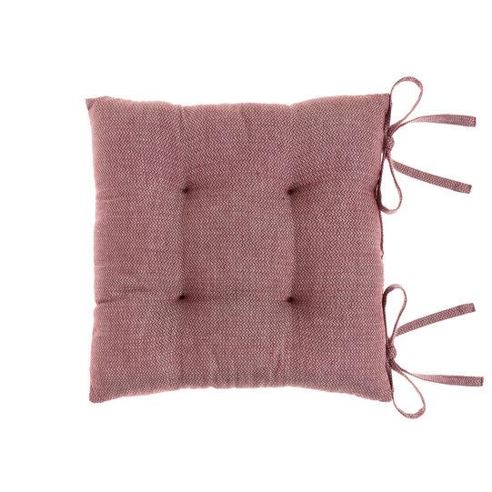 Cuscino da sedia puro cotone motivo zigzag