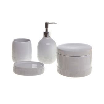 Dots ceramic bathroom set